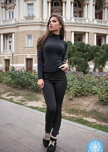 Легінси ISSA PLUS 4449 S чорний