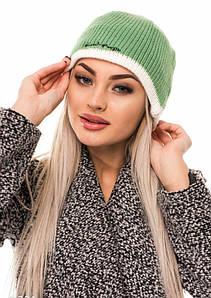 Жіночі шапки ISSA PLUS 9221 Універсальний зелений