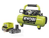 Компрессор аккумуляторный Ryobi ONE+ R18AC-0