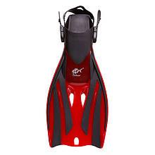 Lb Ласты для дайвинга с открытой пяткой красные 34-38 Dolvor F52SR Froggi M83-282288