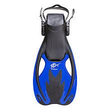 Lb Ласты для плавания короткие с открытой пяткой синие 34-38 Dolvor F89 Speedy M83-282335