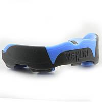 Lb Капа боксерская для зубов спортивная для бокса, для единоборств Venum Predator подростковая черно-синяя