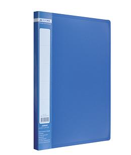 Папка A-4 з боковим прижимом JOBMAX, синий