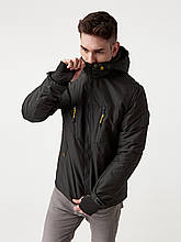Чоловіча демісезонна куртка Riccardo V-1 Чорна