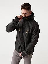 Мужская демисезонная куртка Riccardo V-1 Черная