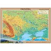 Україна 1: 2 400 000 фізична  папір/ламінація