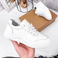 Кроссовки женские Beryl белые 3104