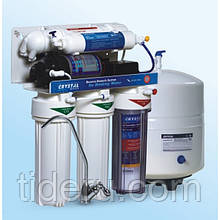 Фильтр для воды с обратным осмосом Crystal CFRO-550P пять ступеней очистки с помпой