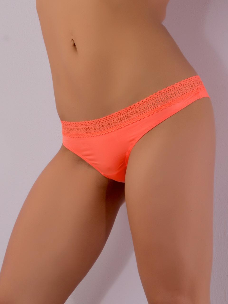 Трусики женские Acousma T6365-1H, цвет Оранжевый, размер S