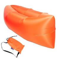 Надувной гамак оранжевый SKL11-283859