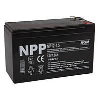 Аккумуляторная батарея NPP NP12-7.5 (NP1275)