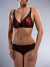 Комплект женского нижнего белья Acousma A6407BC-P6407H, цвет Коричнево-Коралловый, размер 85B-XL