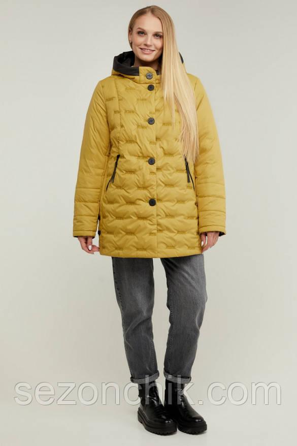 Демісезонна куртка жіноча з капюшоном новинка
