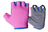 Фітнес рукавички PowerPlay 3418 жіночі Розові S