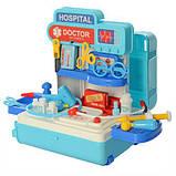 Набор доктора игровой 8390P в чемодане, фото 4