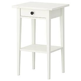 Ночной столик IKEA HEMNES белаый (202.004.56)