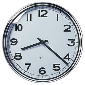 Часы IKEA PUGG Серебристый (103.919.08)