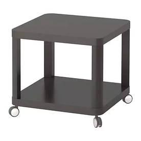 Журнальный столик IKEA TINGBY 50x50 см Серый (003.494.44)