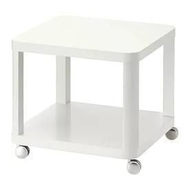 Журнальный столик стол IKEA TINGBY 50 x 50 см Белый (202.959.30)