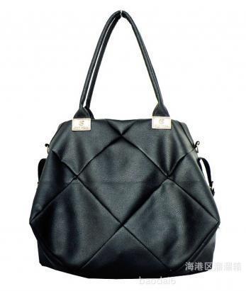 2e396f275e23 Оригинальная большая стильная женская сумка, черная - Интернет магазин