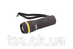 Ліхтар з регулюванням фокуса, 103*31 мм, LED, 3 x AAA, ABS MASTERTOOL 94-0801