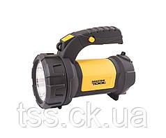 Ліхтар 2-в-1 з ручкою 360°, 4 режиму, 180*94*143 мм, CREE LED + COB LED, 4 x AA, ABS MASTERTOOL 94-0804