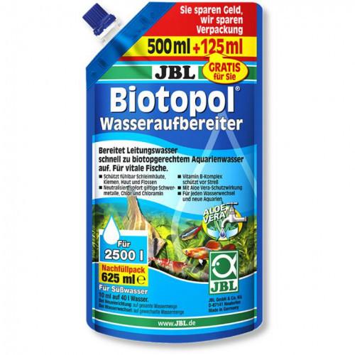 Кондиціонер JBL Biotopol для прісноводних акваріумів, 625 мл