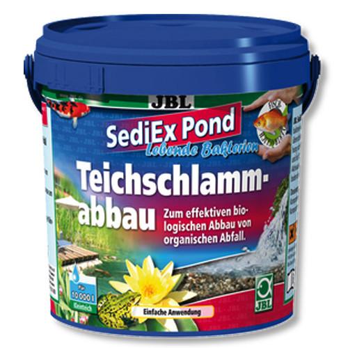 Бактерії і активний кисень JBL SediEx Pond для розщеплення мулу, 250 г