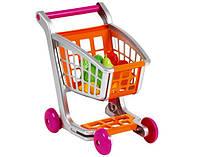 Супермаркет, каси, візки, набори продуктів