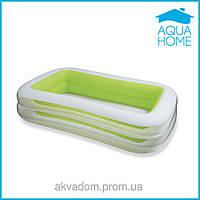 Детский надувной бассейн INTEX 56483 (262*175*56 см)Морская волна