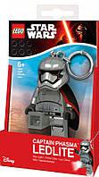 Брелок LEGO Star Wars: Капитан Фазма (LGL-KE96)