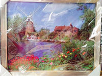 Картина в рамке 45*40см (Пейзаж). Подарок к празднику код 56016
