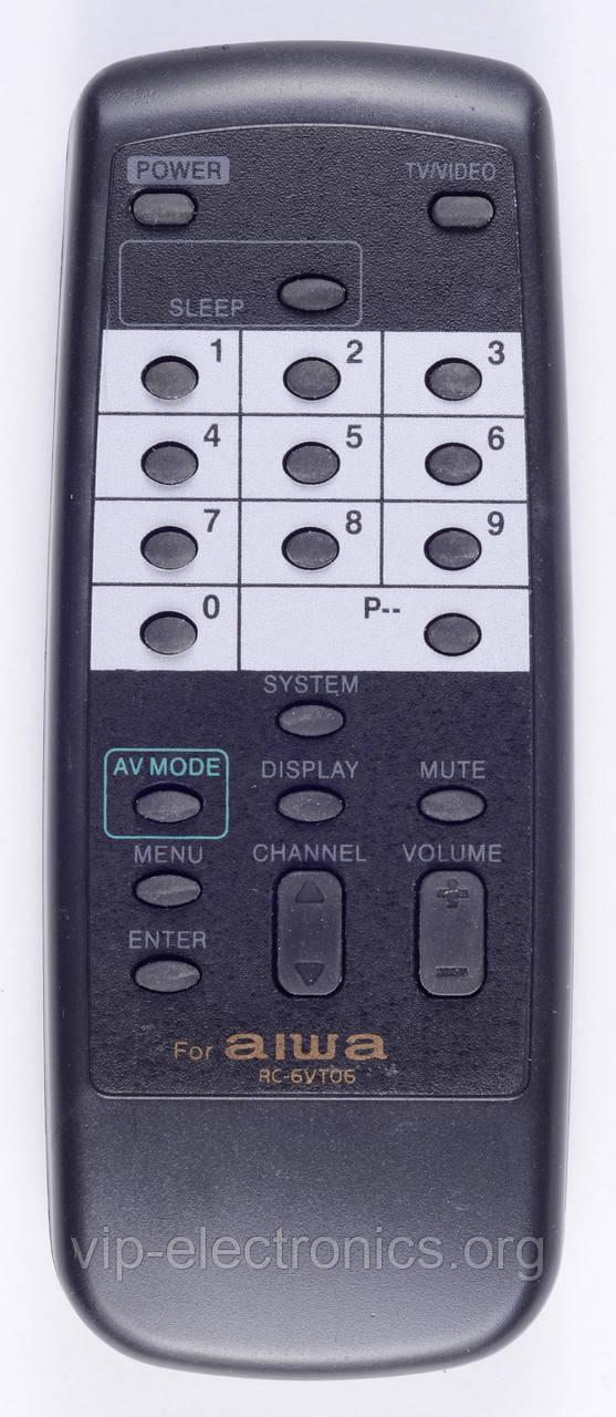 Пульт Aiwa  RC-6VT06 (TV) як оригінал