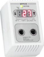 Терморегулятор розеточный УКРРЕЛЕ РТУ-10/П, 10А