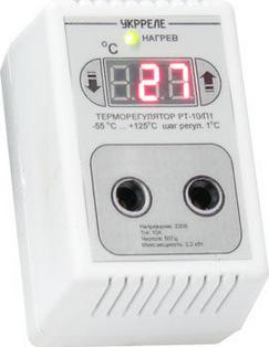 Терморегулятор розеточный УКРРЕЛЕ РТУ-10/П, 10А, фото 2