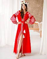 Вишита сукня Конраст
