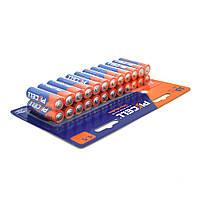 Батарейка щелочная PKCELL 1.5V AA/LR6, 24 штуки в блистере цена за блистер, Q12