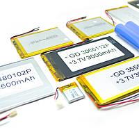 Литий-полимерный аккумулятор 4*50*100mm (Li-ion 3.7В 3000мА·ч)