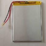 Литий-полимерный аккумулятор 4.2*66*110mm (Li-ion 3.7В 3500мА·ч)