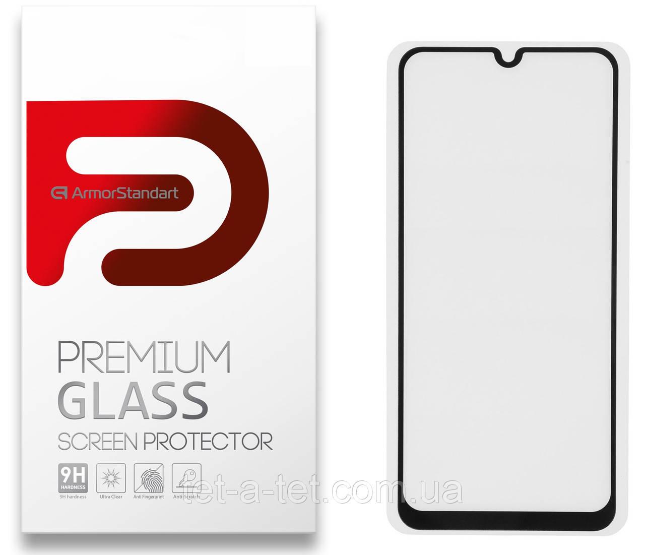 Защитное стекло Armorstandart Full Glue HD для Samsung A31 (A315)
