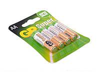 Батарейка GP Super 15A-2UE4, щелочная AA, 4 шт в блистере, цена за блистер