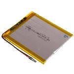 Литий-полимерный аккумулятор 4*90*75mm (Li-ion 3.7В 4000мА·ч)
