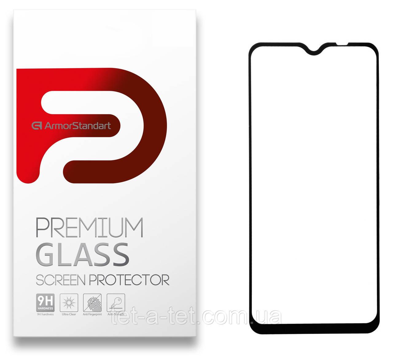 Защитное стекло Armorstandart Full Glue HD для Xiaomi Redmi 9