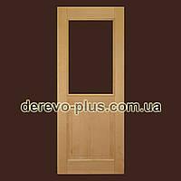 Двері з масиву дерева 80см (бук) s_0080