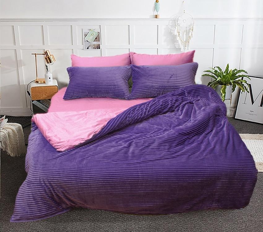 Комплект постельного белья двуспальный евро зима-лето ZL-31