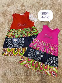 Платье для девочек оптом, F&D, 4-12 лет, арт. 3854