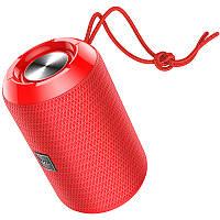 Портативная Bluetooth колонка HOCO HC1, красная