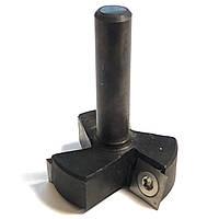 Фреза для выравнивания плоскости(для слэбов) со сменными ножами D50 d12 h14 L60 мм, фото 1