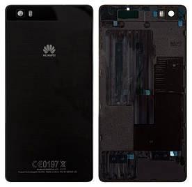 Оригинальная Задняя Панель Корпуса ( Крышка) для Huawei P8 Lite (ALE-L21/ ALE-L21)(Черная)