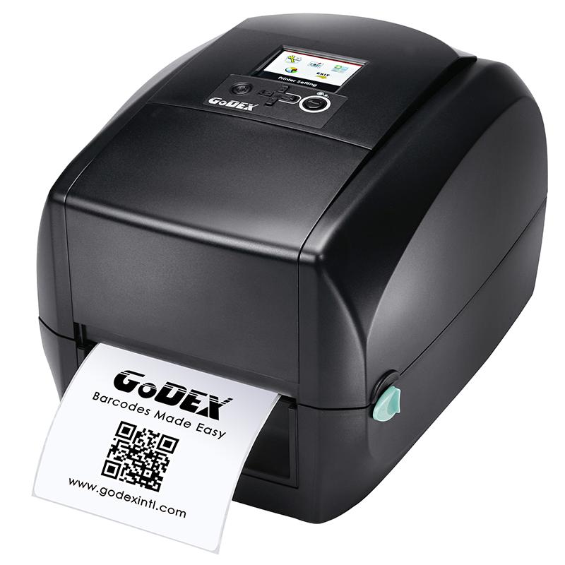 Настільний принтер етикеток Godex RT 700iw (USB+RS232+ Ethernet+USB Host)